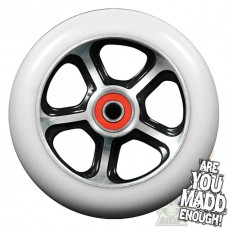 MGP DDAM CFA 110mm WHEEL - BLACK/WHITE inc BEARINGS
