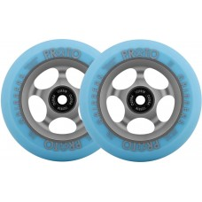 Proto Gripper Faded Pro Scooter Wheels (2-Pack) 110 - Grey/Blue